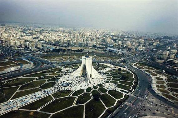 تهران در آستانه بلعیده شدن